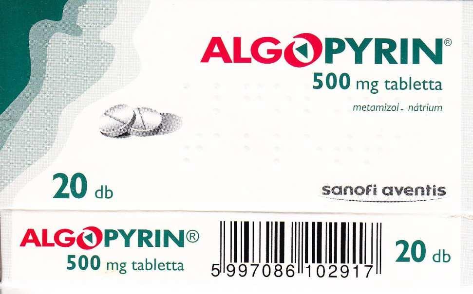 Algopyrin paracetamol