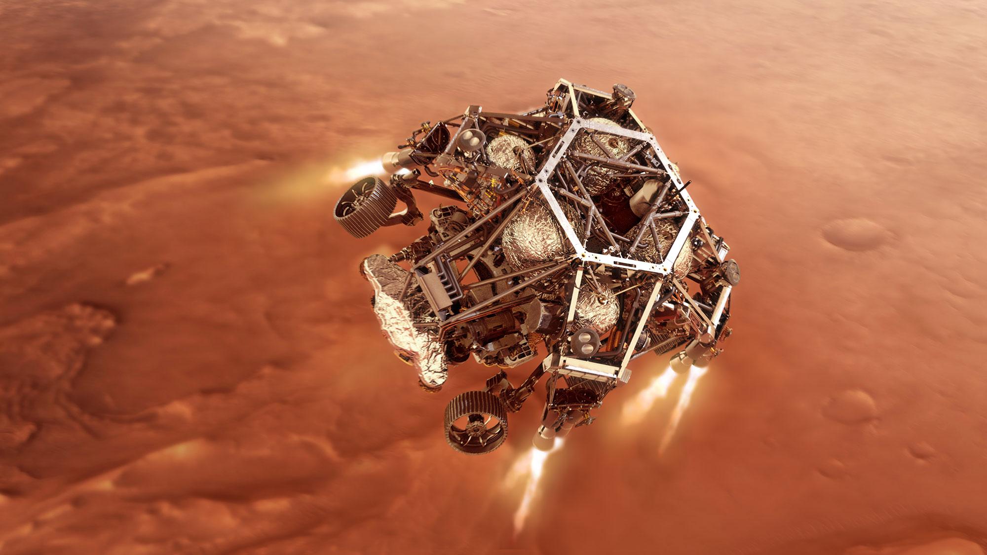 leszállt a Marson a Perseverance - Délnyugat Krónika / delnyugatkronika /