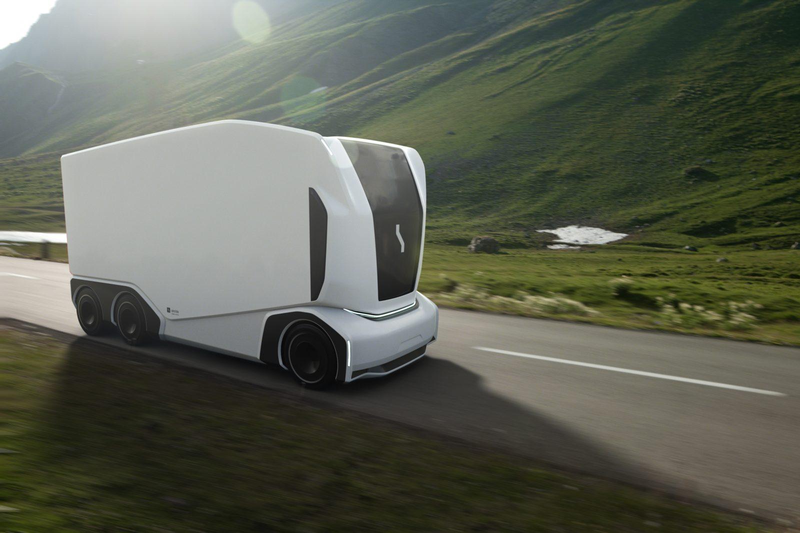 Németországban már fejlesztik az utat, ami menet közben tölti az elektromos kamionokat